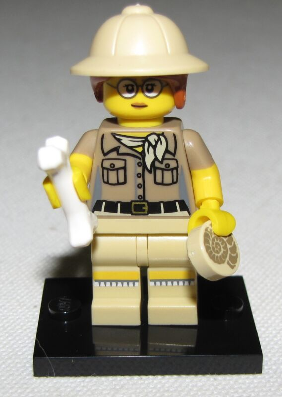 LEGO NEW SERIES 13 71008 MINIFIGURES ALL 16 AVAILABLE YOU PICK YOUR FIGURES  Paleontologist
