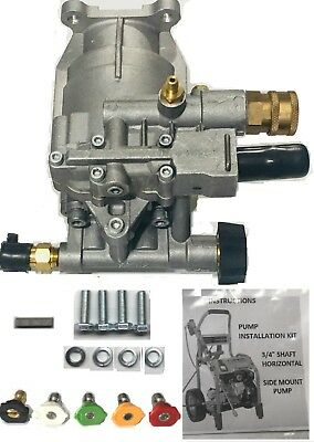 Bonus Tip Set Horizontal Pressure Washer Pump Kit 34 Replace Pk18219-pk16331