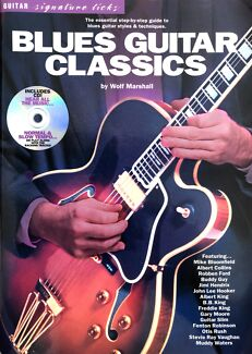 Wanted: Blues Guitar Classics by Wolf Marshall, Book & CD