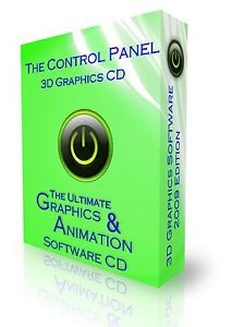 3D ANIMATION GRAPHICS CARTOON & STUDIO DESIGN SOFTWARE CD