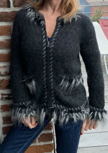 Tres joli  veste tweed chanel taille 42 = 38 francais