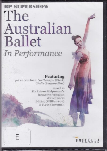 THE AUSTRALIAN BALLET IN PERFORMANCE - BP SUPERSHOW-  DVD