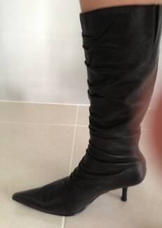 Betts black boots size 6 Southern River Gosnells Area Preview