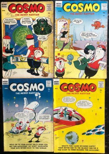 Cosmo The Merry Martian 3,4,5,6