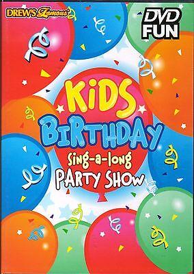 Drews Famous Kids Birthday Sing A Long Party Show  Boys Girls Dance Celebration
