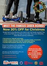 SABER ElectricScooter Self Balancing Segway Skateboard Hoverboard Parkwood Gold Coast City Preview