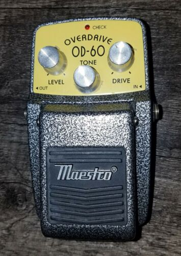 Maestro OD-60 Overdrive Effect Guitar Pedal