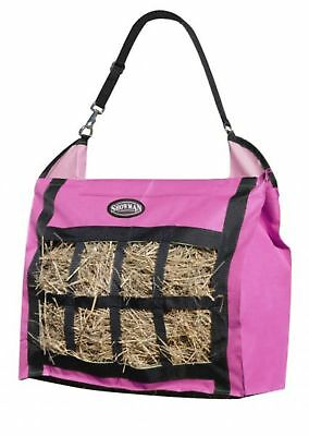 Tough-1 Purple Zebra Fun Print Nylon Hay Tote Bag Horse Tack 72-7816
