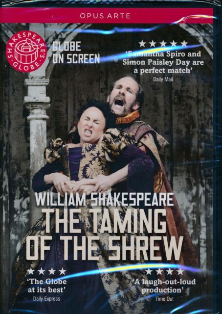 Opus Arte Shakespeare Taming Of The Shew DVD NEW Toby Frow