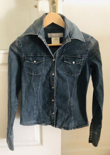 Versace - chemise en jean - taille xs - tres bon État
