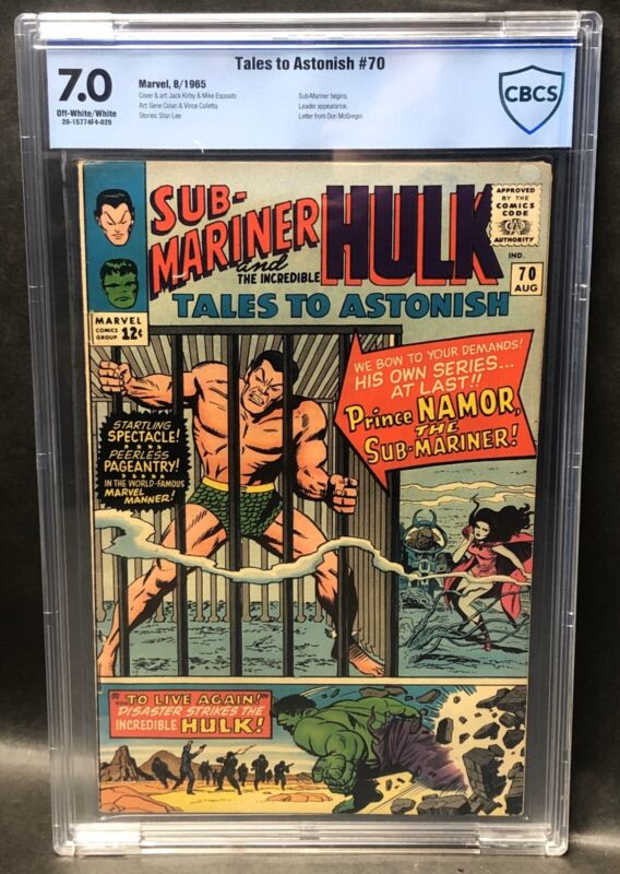 Tales to Astonish # 70 CBCS 7.0 SUB-MARINER STARTS AS FEATURE CHARACTER