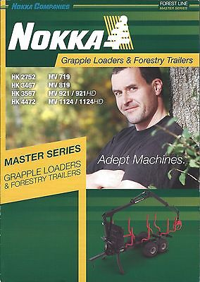 Equipment Brochure - Nokka - Grapple Log Loader Trailer Logging E3752