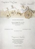 Partecipazioni Matrimonio Nozze Invito Buste Partecipazione Sposi 08 -  - ebay.it