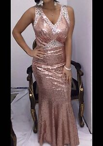 Rose gold shimmering dress Craigieburn Hume Area Preview