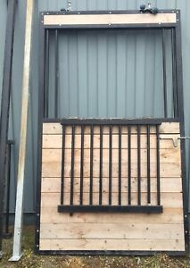 Barn Stall Door and Front Grill