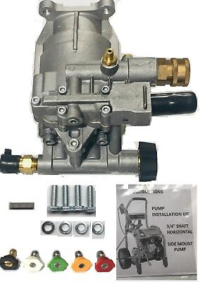 Free Tips Side Shft Pressure Washer Pump Kit 34 Upgrade Troy-bilt Ar Sjv Model