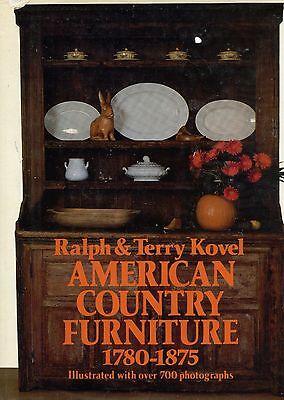 Antique America Primitive Country Furniture 1780-1875 / Illustrated Book