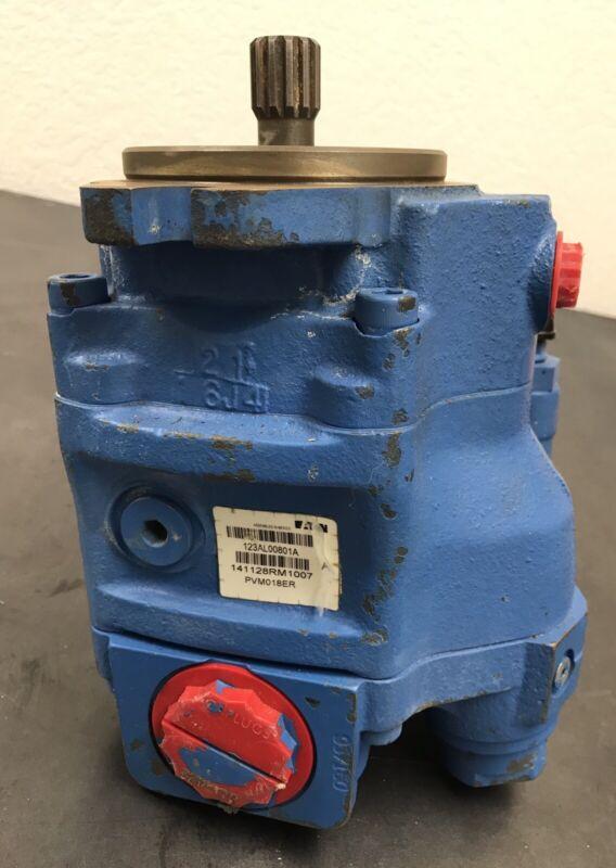 Vickers Eaton PVM018ER Hydraulic Pump 123AL00602A (eb11)