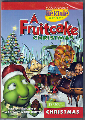 A FRUITCAKE CHRISTMAS Max Lucado HERMIE and FRIENDS on DVD of CHRISTIAN Holiday! ()
