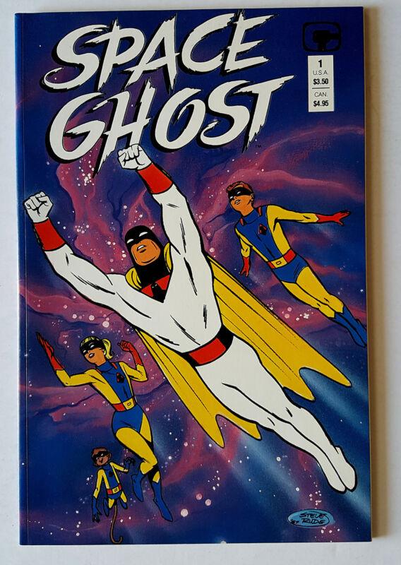Space Ghost (1987 Comico) VF