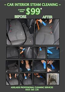 CAR INTERIOR STEAM CLEANING Adelaide CBD Adelaide City Preview