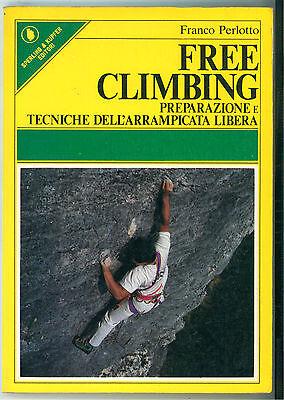 PERLOTTO FRANCO FREE CLIMBING ARRAMPICATA 1986 SPERLING & KUPFER SPORTIVA 103