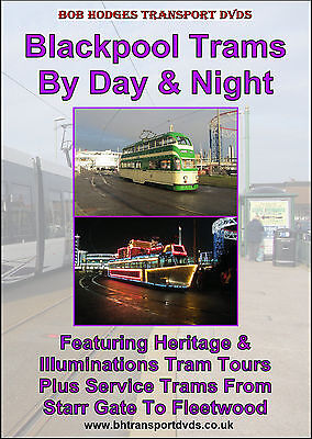 Blackpool Trams By Day & Night, Featuring Heritage & Illuminated Trams DVD
