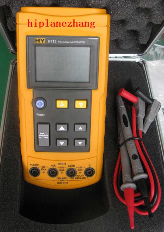 Hi-Accuracy 0.02% Voltage Current Source 0-24mA 10V Process Loop Calibrator H715