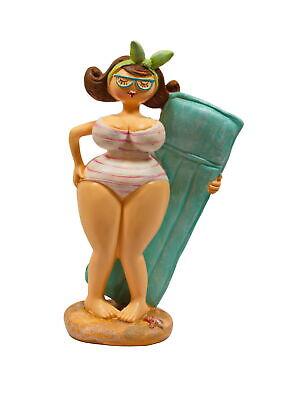 Frau im Badeanzug Mollige Dicke Dame Lady Rubens - Dicke Dame Im Badeanzug