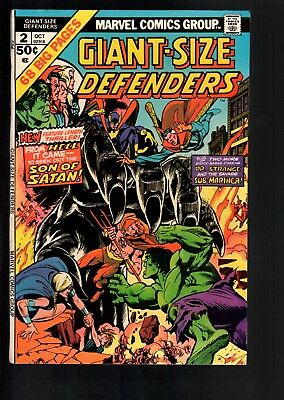 Giant-Size Defenders #2 VF+ 8.5 Marvel Bronze Age Giant 1974 High Grade!!!