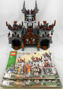 Lego-Castle-7097-Trolls-Mountain-Fortress-Set-Loose-INCOMPLETE-NO-MINIFIGURES