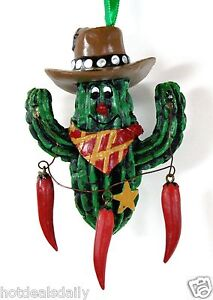 Cowboy Hat Christmas Ornaments