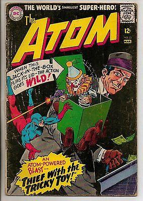 DC Comics Atom #23 March 1966 G