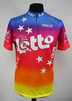 VERMAC LOTTO CYCLING JERSEY size XL SHIRT MAILLOT CYCLISM TEAM LOTTO _(76)