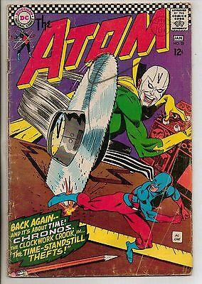 DC Comics Atom #28 January 1967 G