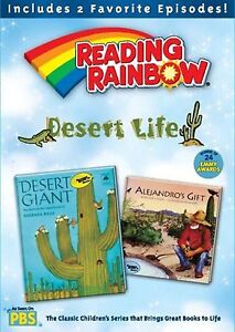 READING RAINBOW - DESERT LIFE (DVD) kids children PBS SEALED BRAND NEW