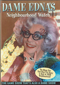 Dame Edna's Neighbourhood Watch DVD Complete Series One (New / Sealed)