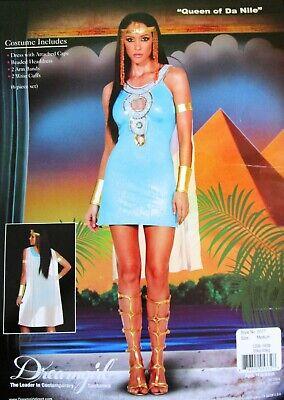 loween Dress Costume * Size MEDIUM * Egypt Cleopatra VGUC (Da Halloween Kostüm)