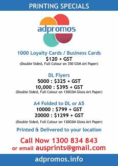 Flyer & Business Card Printing