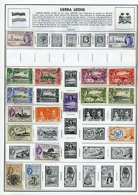 Sierra Leone, Scot MLH36, U37, LH128-129, LH186-187, NH188, NH225-226, NH248-250
