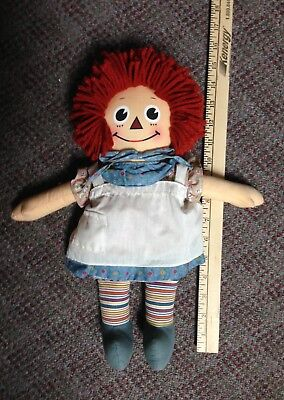 Baby Raggedy Ann Doll  By Applause Item #16664