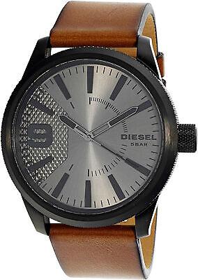 Diesel Men's Rasp DZ1764 Brown Leather Quartz Fashion Watch