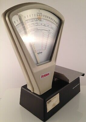 Friden Mailing Equipment Postal Scale 9320 Usps Vintage Made In Usa Alcatel Fme