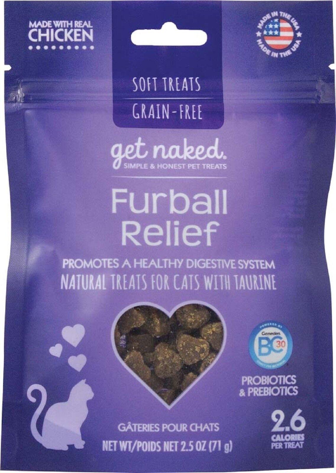 Get Naked Kitten Health Grain-Free Soft Cat Treats, 2.5-oz