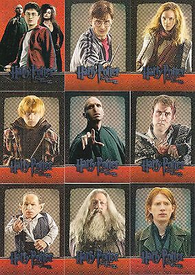 HARRY POTTER & THE DEATHLY HALLOWS MOVIE PART 2 2011 ARTBOX BASE CARD SET OF 54