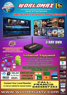 WorldMAX Quadcore Android Indian IPTV from  Authorised Reseller Blacktown Blacktown Area Preview