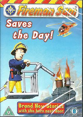 FIREMAN SAM - SAVE THE DAY!  - FOR KIDS - BRAND NEW DVD - FREE UK POST