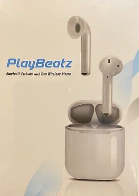 PLAYBEATZ AirPods with Charging Case - White