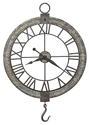 """HOWARD MILLER - 625-699 OVER-SIZED GALLERY  """"PULLEY  WALL CLOCK""""    625699"""