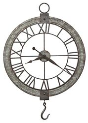 HOWARD MILLER - 625-699 OVER-SIZED GALLERY  PULLEY  WALL CLOCK    625699